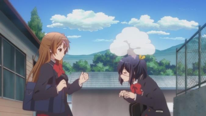Confirming Shinka's suspicions