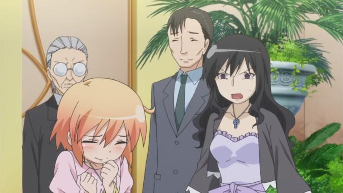 Kumiko yells at Haruka
